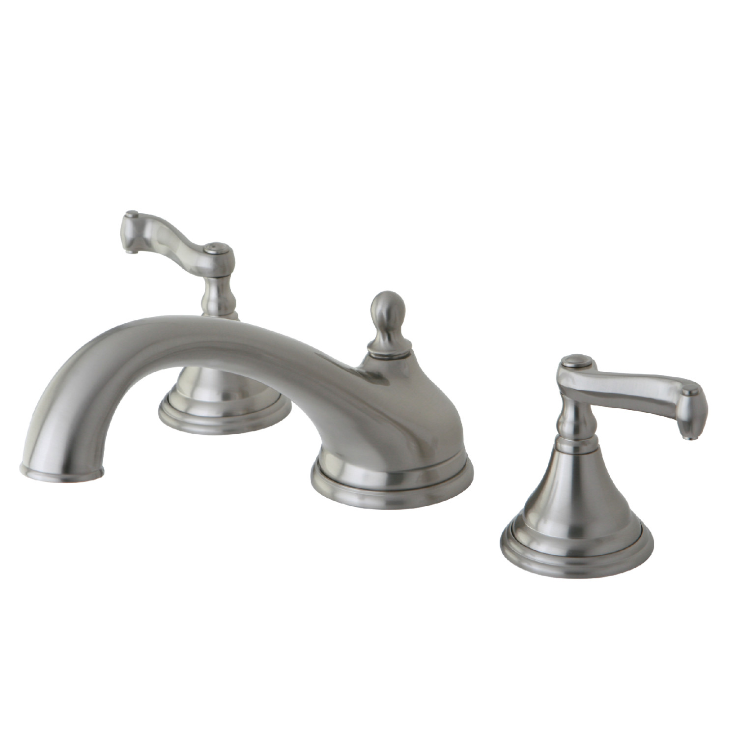 Nap Fauceture FS1616ACL 4-Inch Centerset Bathroom Faucet with Push Pop-Up Drain
